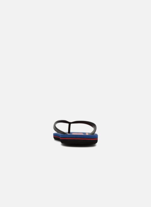Flip flops Quiksilver Molokai Wordmark Blue view from the right