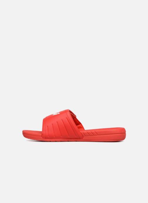 Sandales et nu-pieds Supra Locker Rouge vue face