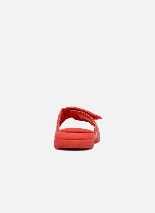 Sandales et nu-pieds Supra Locker Rouge vue droite