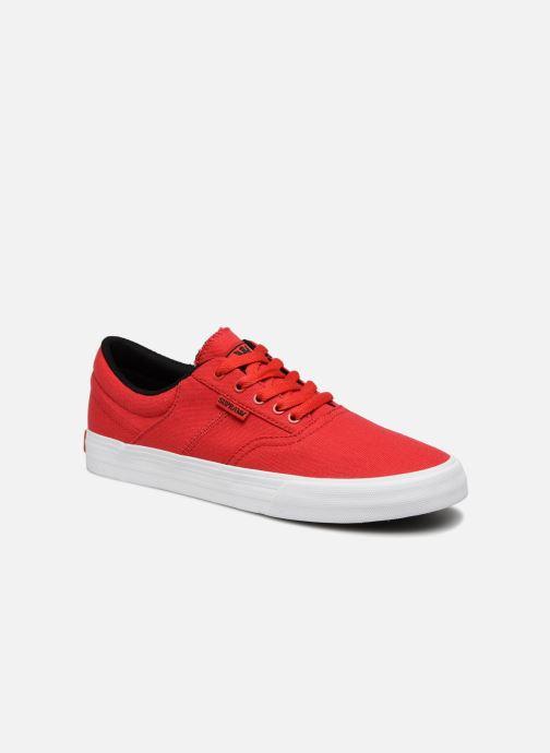 Sneakers Supra Cobalt Rood detail