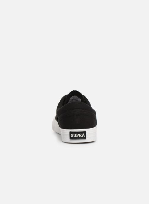 Sneaker Supra Cobalt schwarz ansicht von rechts