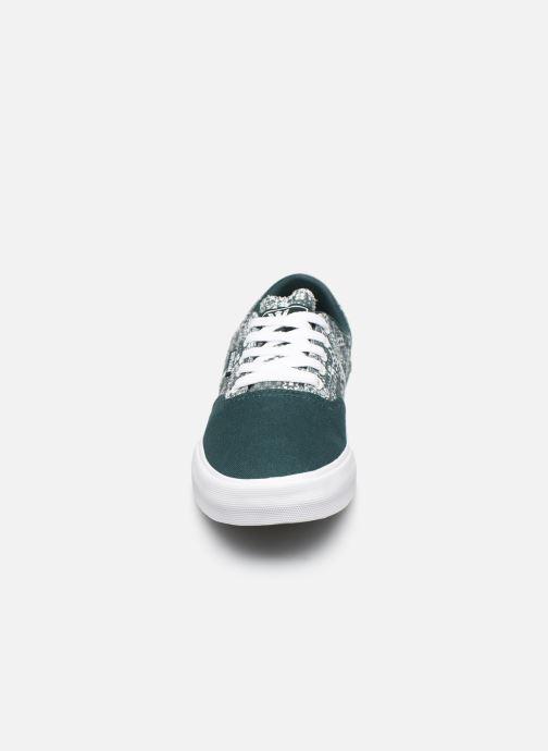 Baskets Supra Cobalt Vert vue portées chaussures