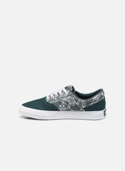 Sneaker Supra Cobalt grün ansicht von vorne