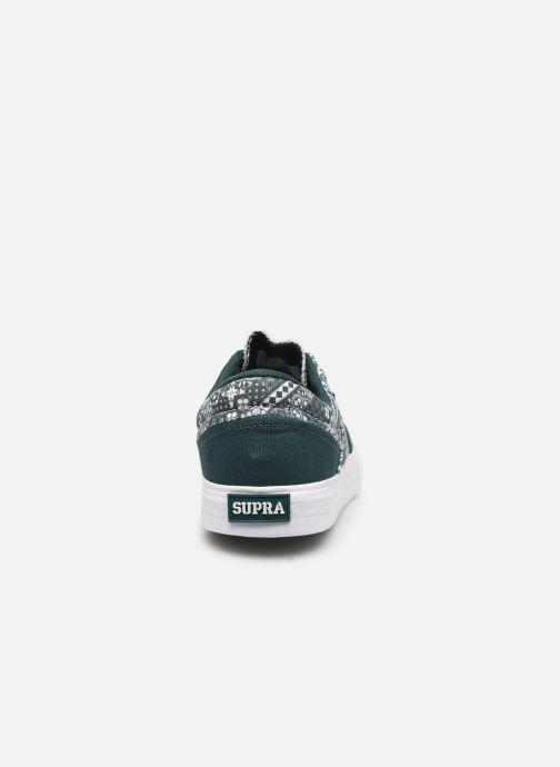 Sneaker Supra Cobalt grün ansicht von rechts