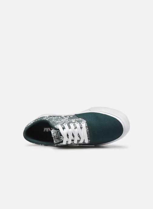 Sneaker Supra Cobalt grün ansicht von links