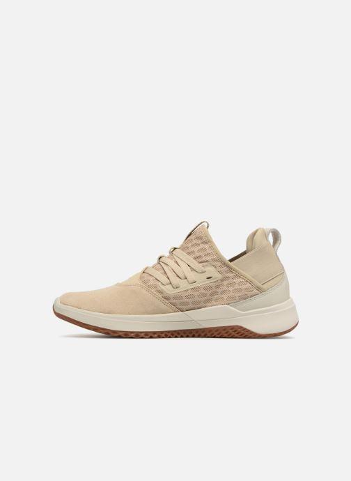 Sneakers Supra Titanium Beige immagine frontale