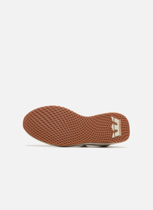 Baskets Supra Titanium Beige vue haut
