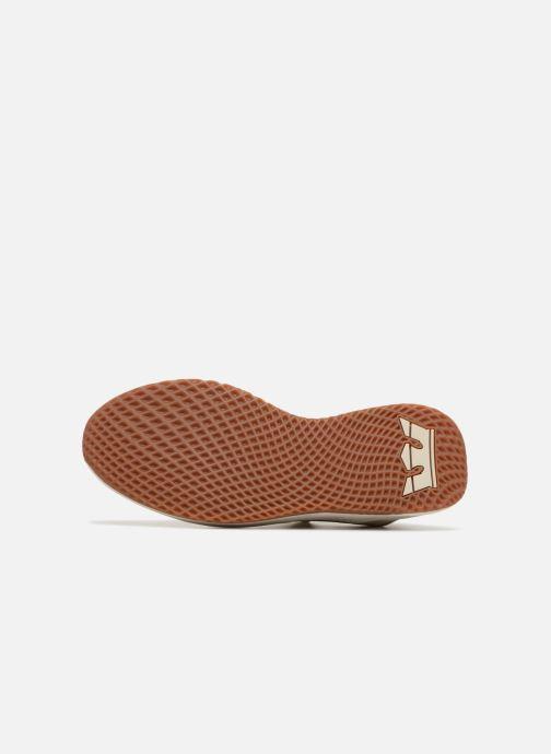 Sneakers Supra Titanium Beige immagine dall'alto