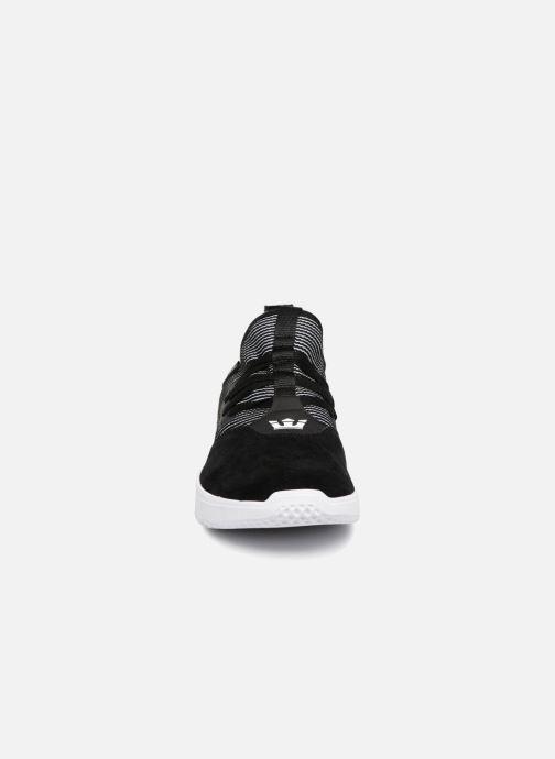 Sneaker Supra Titanium schwarz schuhe getragen