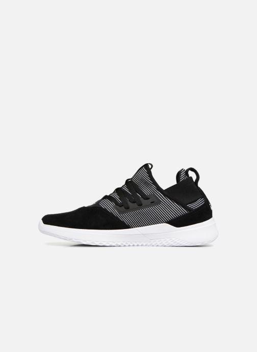 Sneaker Supra Titanium schwarz ansicht von vorne