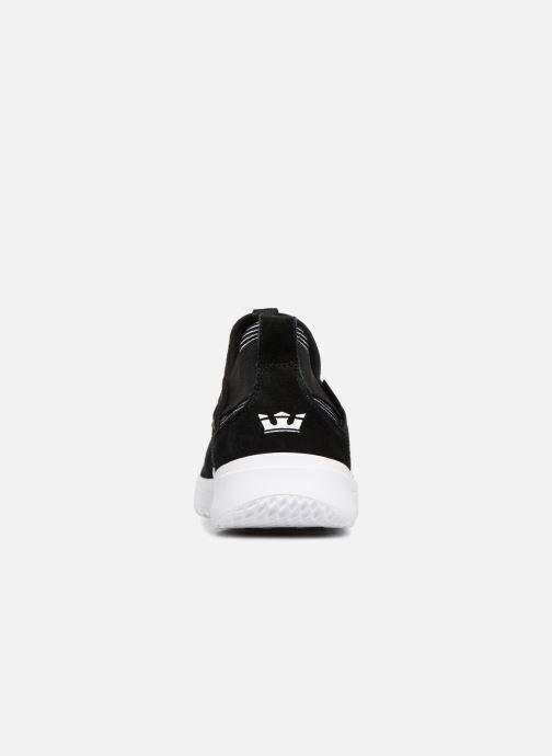 Sneaker Supra Titanium schwarz ansicht von rechts