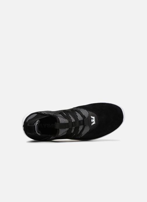 Sneaker Supra Titanium schwarz ansicht von links