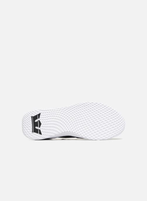 Sneaker Supra Titanium schwarz ansicht von oben