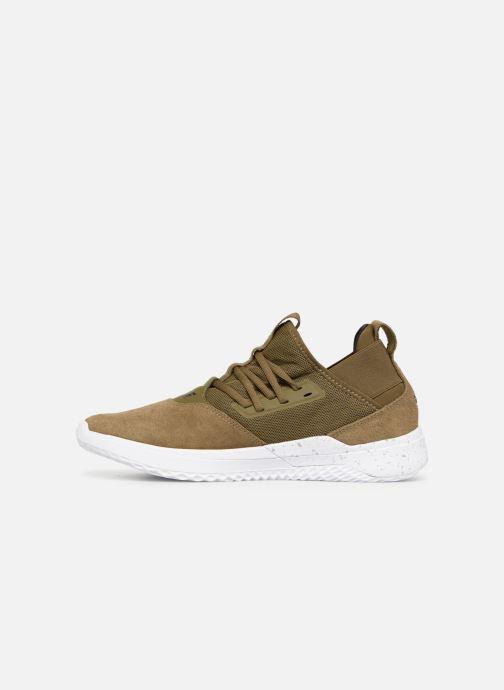 Sneaker Supra Titanium grün ansicht von vorne