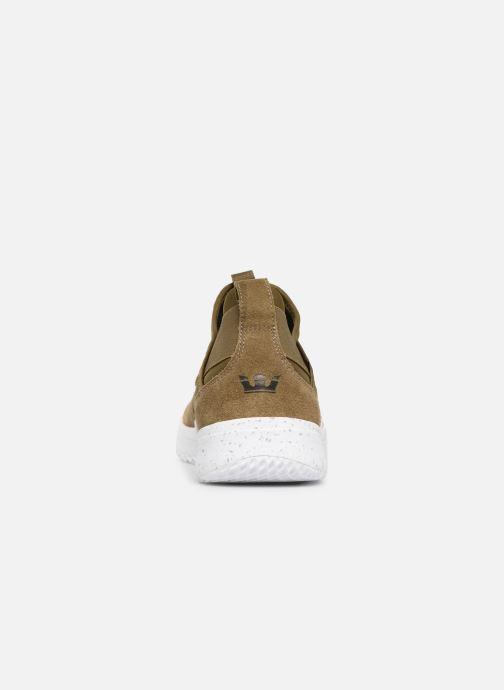 Sneakers Supra Titanium Groen rechts