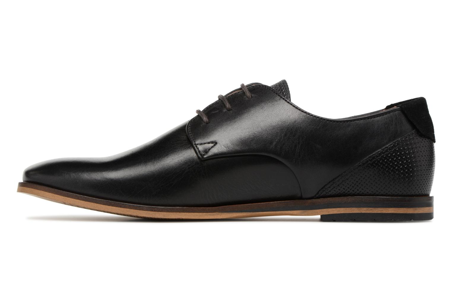 Lace-up shoes Schmoove Swan Derby Tornado/Motta Black front view