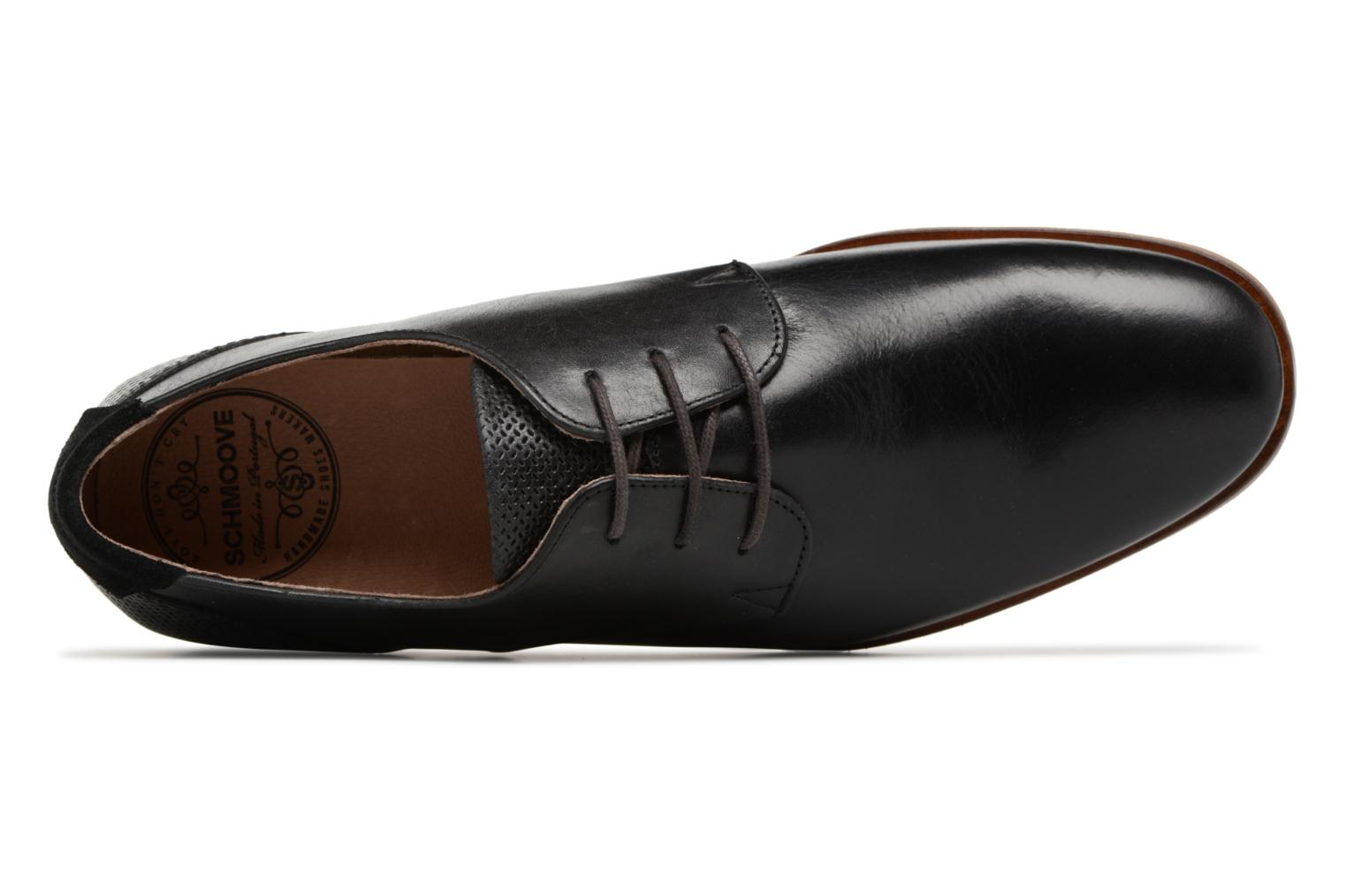 Lace-up shoes Schmoove Swan Derby Tornado/Motta Black view from the left