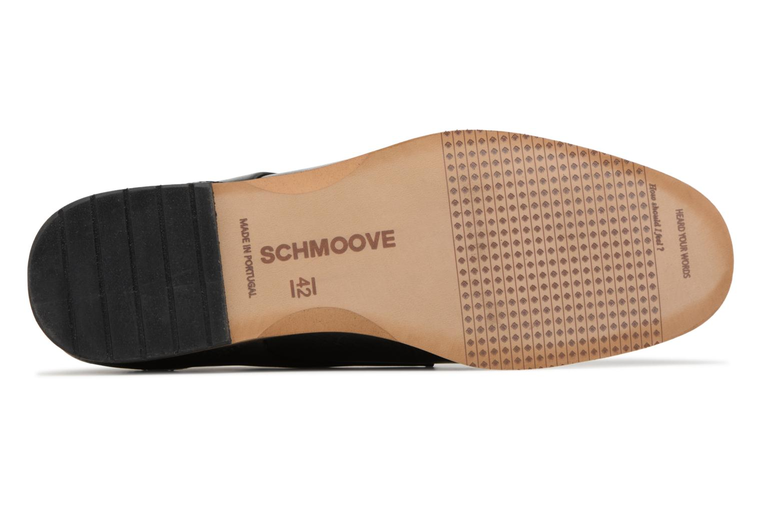 Lace-up shoes Schmoove Swan Derby Tornado/Motta Black view from above