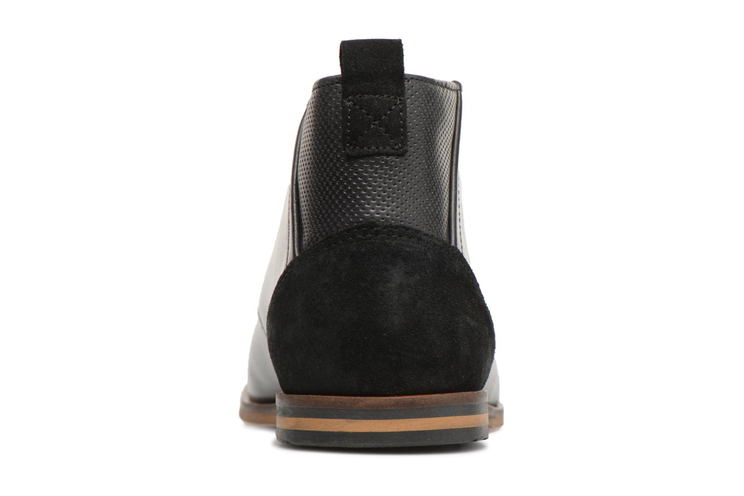Ankle boots Schmoove Swan Desert Tornado/M.Perfo Black view from the right