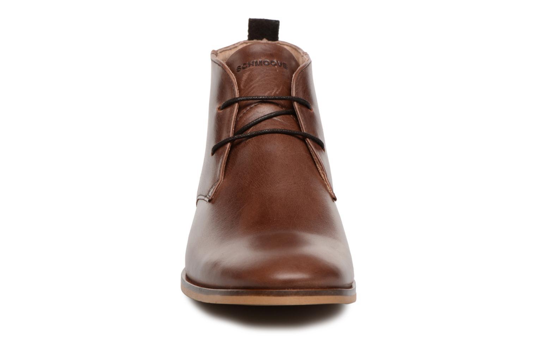 Ankle boots Schmoove Swan Desert Tornado/M.Perfo Brown model view