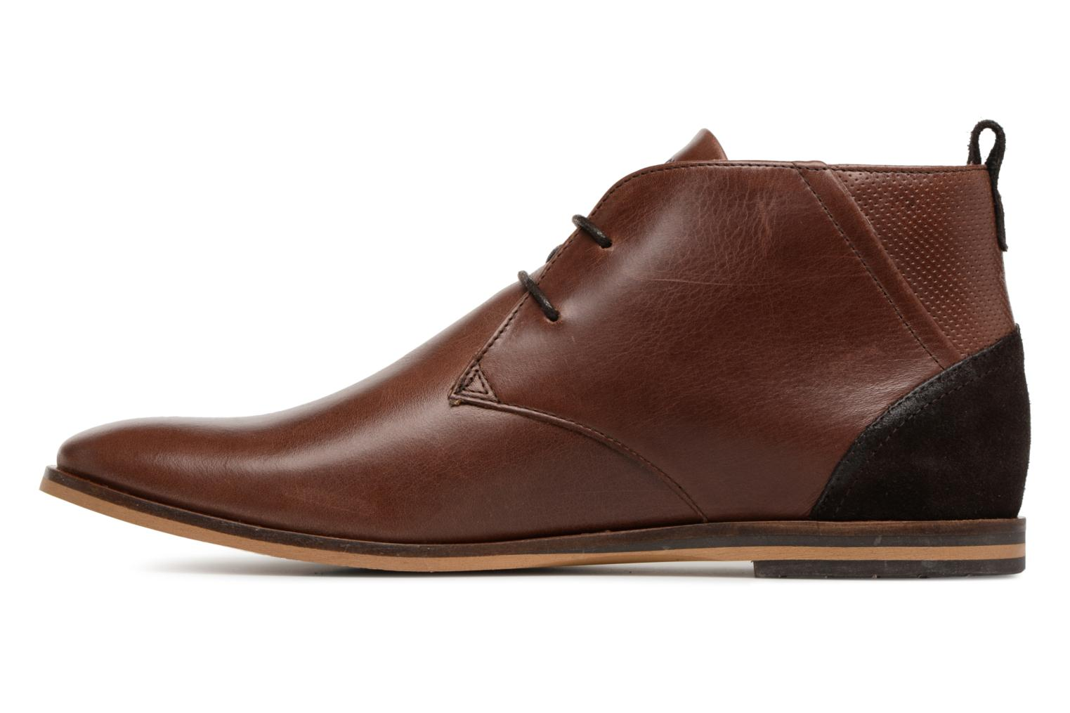 Ankle boots Schmoove Swan Desert Tornado/M.Perfo Brown front view