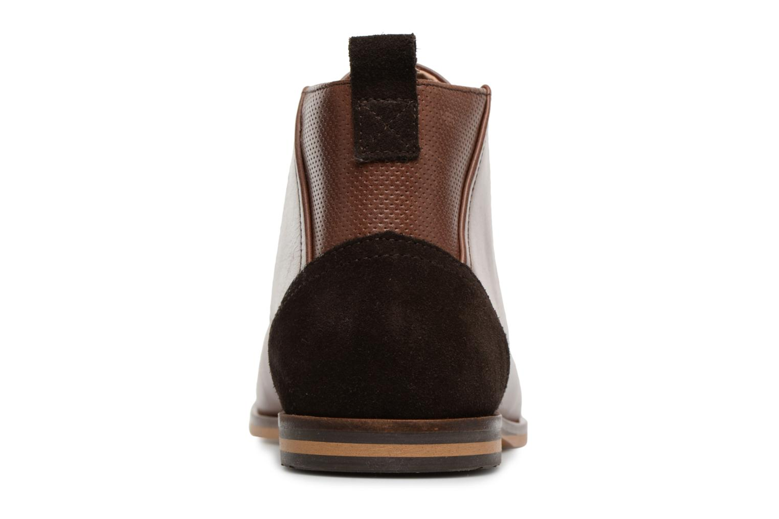 Ankle boots Schmoove Swan Desert Tornado/M.Perfo Brown view from the right