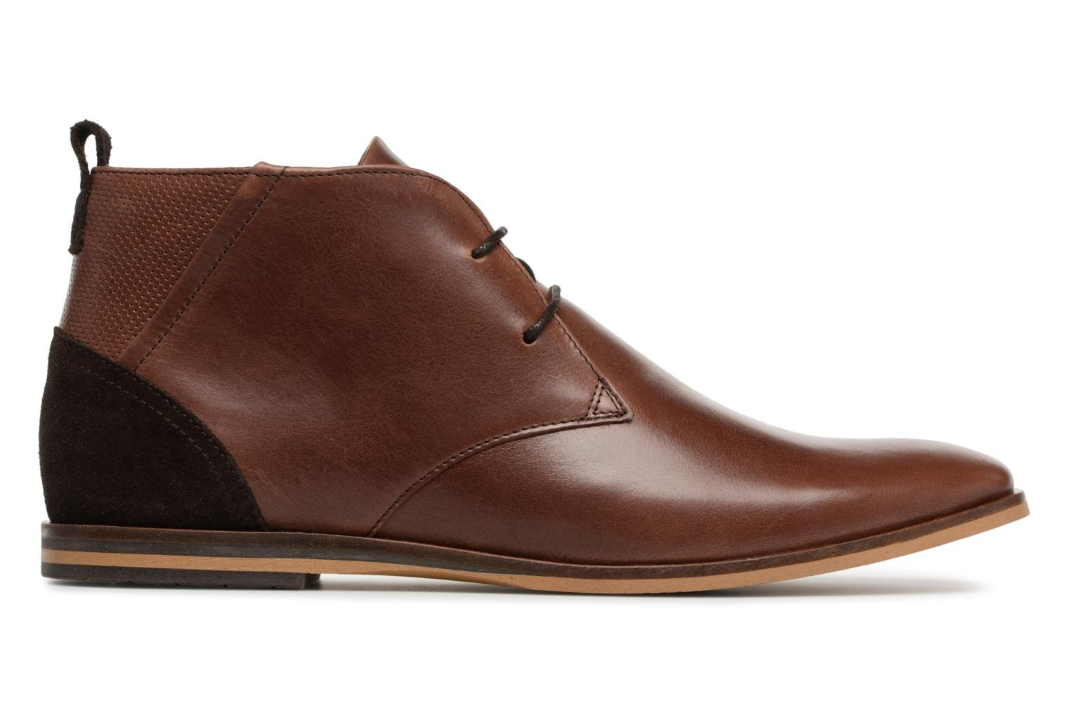 Ankle boots Schmoove Swan Desert Tornado/M.Perfo Brown back view