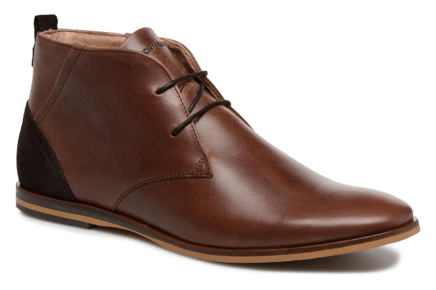 Ankle boots Schmoove Swan Desert Tornado/M.Perfo Brown detailed view/ Pair view