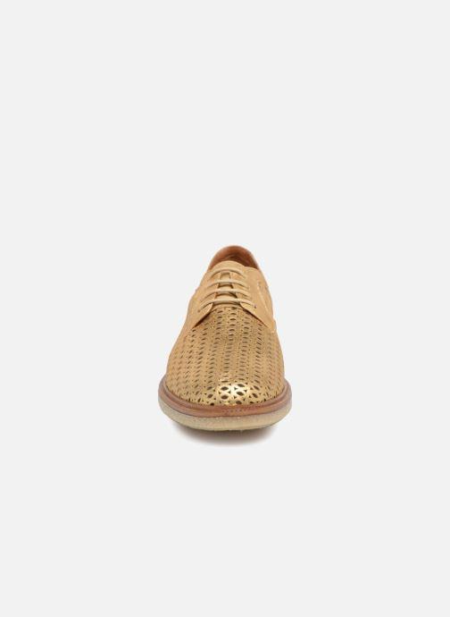 Chaussures à lacets Schmoove Woman Darwin Classic Douro Or et bronze vue portées chaussures