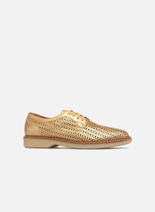 Chaussures à lacets Schmoove Woman Darwin Classic Douro Or et bronze vue derrière