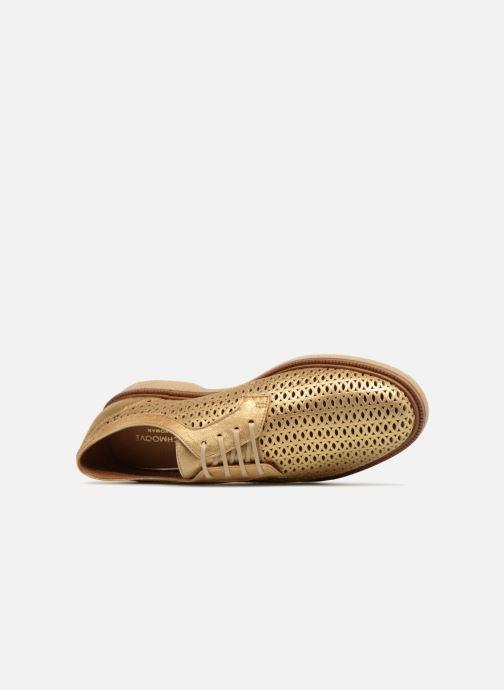 Chaussures à lacets Schmoove Woman Darwin Classic Douro Or et bronze vue gauche