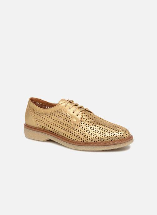 Chaussures à lacets Schmoove Woman Darwin Classic Douro Or et bronze vue détail/paire
