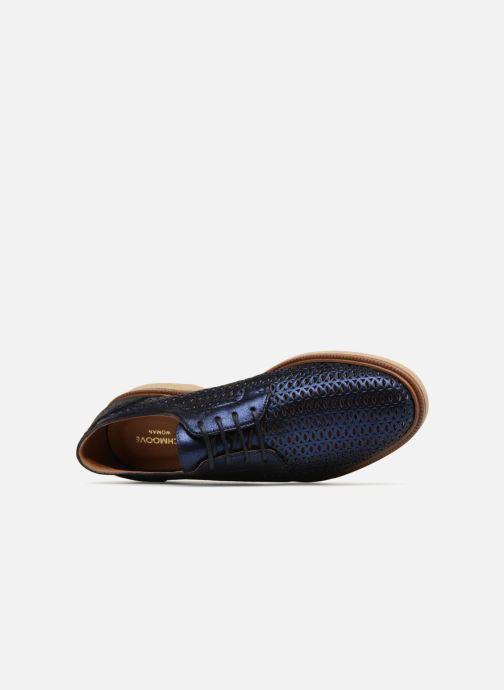 Chaussures à lacets Schmoove Woman Darwin Classic Douro Bleu vue gauche