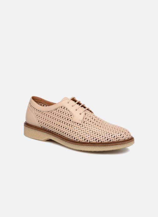 Chaussures à lacets Schmoove Woman Darwin Classic Sauvage Rose vue détail/paire