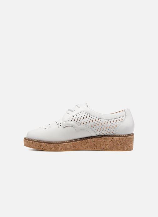 Chaussures à lacets Schmoove Woman Ariane Derby Blanc vue face