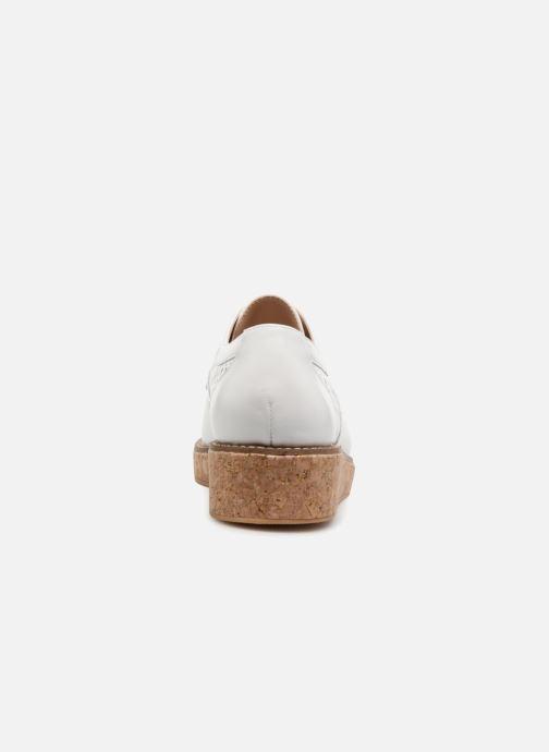 Chaussures à lacets Schmoove Woman Ariane Derby Blanc vue droite