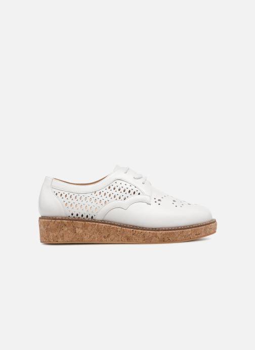 Chaussures à lacets Schmoove Woman Ariane Derby Blanc vue derrière