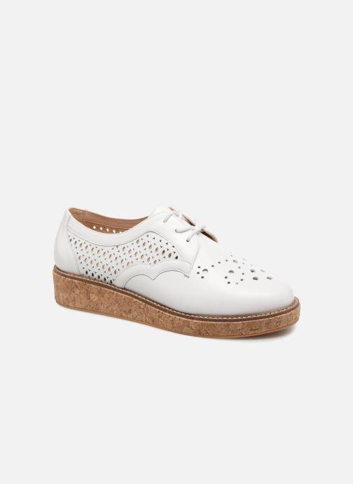 Chaussures à lacets Schmoove Woman Ariane Derby Blanc vue détail/paire
