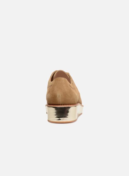 Chaussures à lacets Schmoove Woman Ariane Derby Beige vue droite