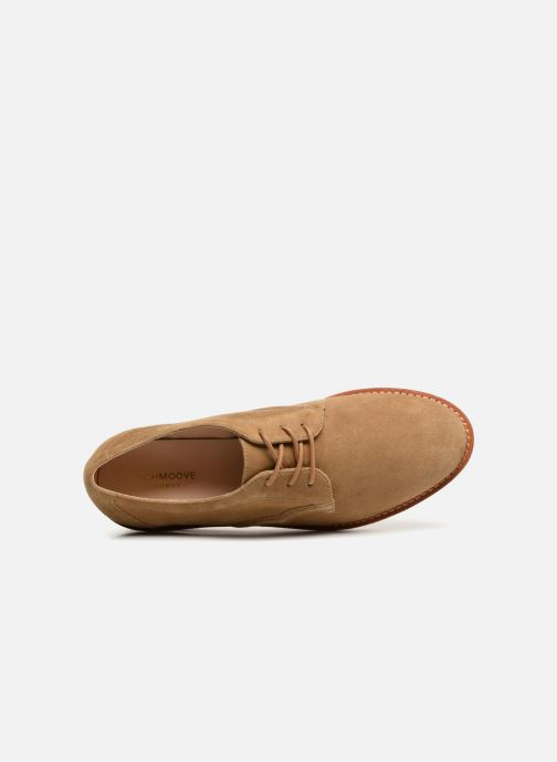 Lace-up shoes Schmoove Woman Ariane Derby Beige view from the left