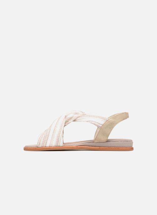 Sandales et nu-pieds Schmoove Woman Pyxsis Knot Lima Blanc vue face