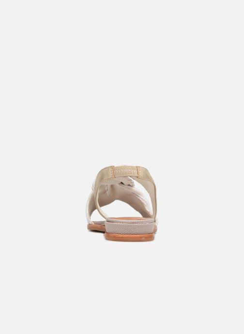Sandales et nu-pieds Schmoove Woman Pyxsis Knot Lima Blanc vue droite