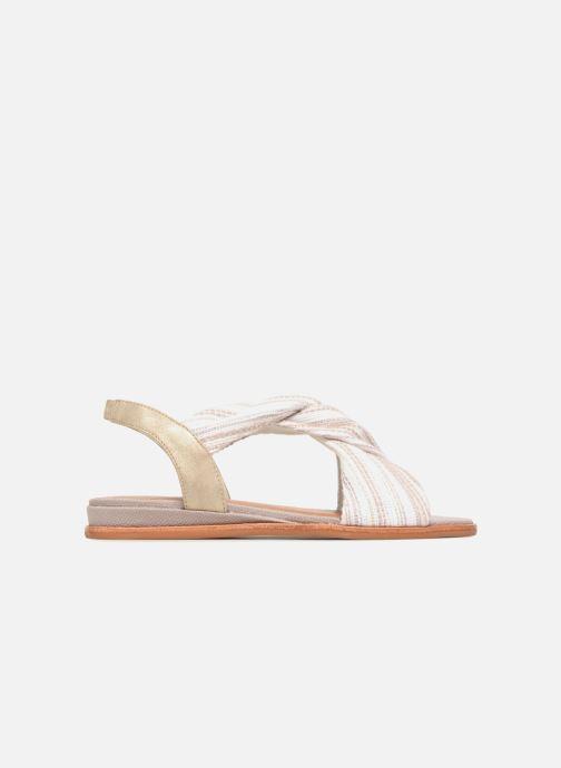 Sandales et nu-pieds Schmoove Woman Pyxsis Knot Lima Blanc vue derrière