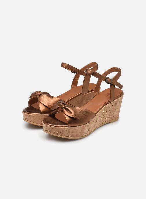Sandales et nu-pieds Schmoove Woman Ariel Ankle Metal Milled Or et bronze vue bas / vue portée sac