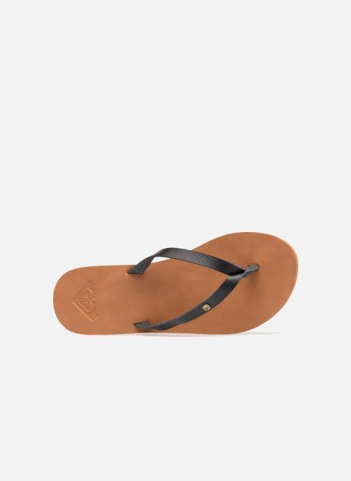 Slippers Roxy Jyll II Zwart links