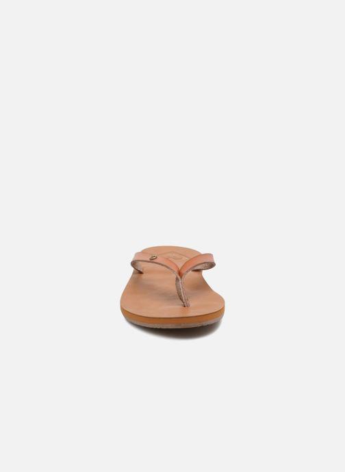 Tongs Roxy Jyll II Marron vue portées chaussures