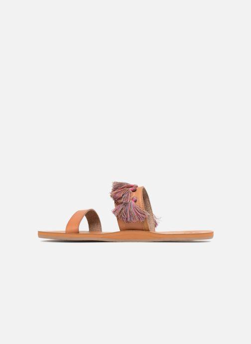 Sandales et nu-pieds Roxy Izzy Marron vue face