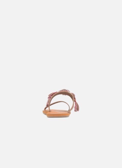 Sandali e scarpe aperte Roxy Izzy Marrone immagine destra