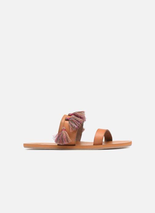 Sandali e scarpe aperte Roxy Izzy Marrone immagine posteriore