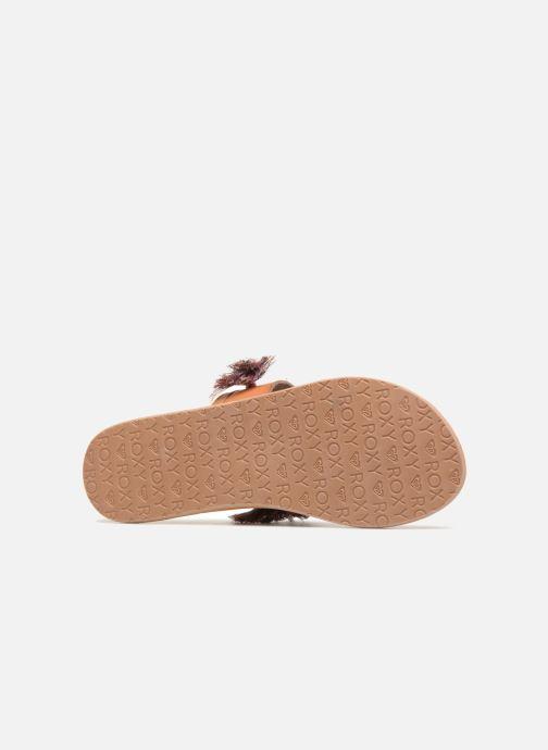 Sandales et nu-pieds Roxy Izzy Marron vue haut